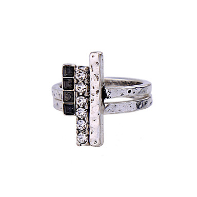 للمرأة خاتم موضة اسلوب لطيف أسلوب بسيط سبيكة مجوهرات من أجل زفاف حزب عيد ميلاد