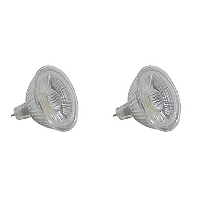 5W 350-400 lm GU5.3 LED Spot Lampen MR16 1 Leds COB Warmes Weiß Weiß