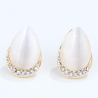 Damen Synthetischer Opal Einzigartiges Design Modisch individualisiert Euramerican Synthetische Edelsteine Aleación Kreisform Schmuck