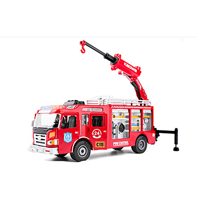 Spielzeug-Autos Aufziehbare Fahrzeuge Baustellenfahrzeuge Bauernhoffahrzeuge Feuerwehrauto Spielzeuge Auto Metalllegierung Stücke Unisex