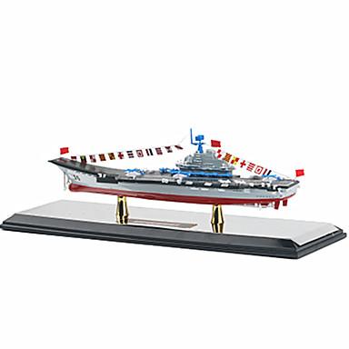 KDW Speelgoedauto's Terugtrekvoertuigen Boerderijvoertuig Vliegdekschip Speeltjes Vliegdekschip Automatisch Metaallegering Stuks Unisex