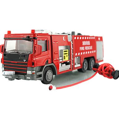 KDW Jucării pentru mașini Vehicul cu Tragere Tren Vehicul de Fermă Vehicul Pompieri Jucarii Tren Mașină Mașini de Pompiere Aliaj Metalic