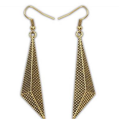 Damen Ohrstecker Tropfen-Ohrringe Kreolen Schmuck Personalisiert Religiöser Schmuck Geometrisch Einzigartiges Design Logo Stil Klassisch
