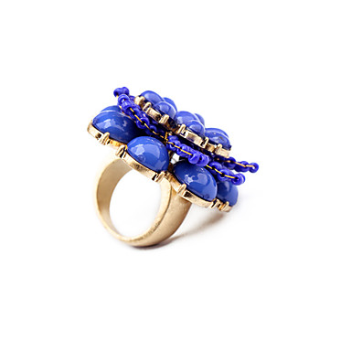 للمرأة خاتم كلاسيكي بديع أسلوب بسيط سبيكة مجوهرات من أجل زفاف حزب عيد ميلاد