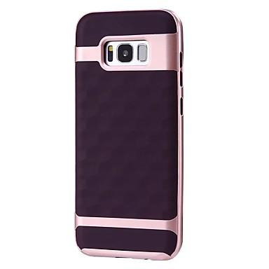 Maska Pentru Samsung Galaxy S8 Plus S8 Anti Șoc Placare Mătuit Capac Spate Model Geometric Moale TPU pentru S8 Plus S8