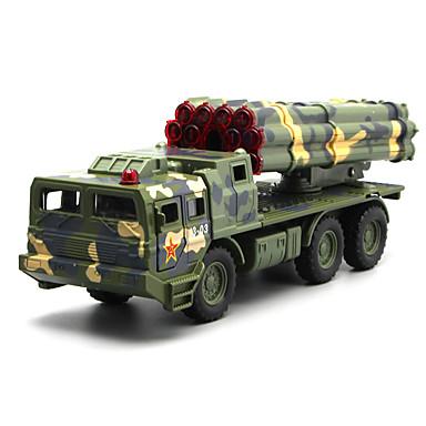 Speelgoedauto's Speeltjes Modelauto Truck Legervoertuig Speeltjes Simulatie Muziek en licht Anderen Vrachtwagen Metaallegering Stuks