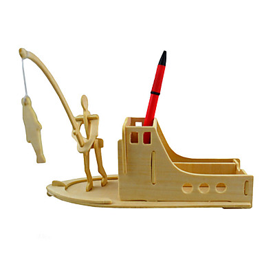3D-puzzels Hout Model Modelbouwsets Speeltjes Speeltjes Hout Unisex Stuks