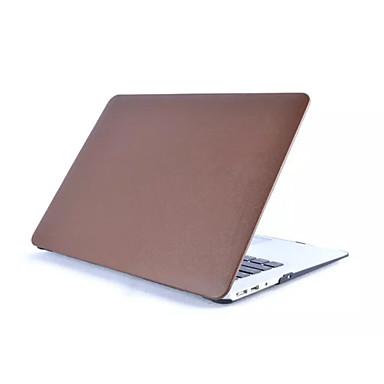 MacBook Futerał Jendolity kolor Skóra PU na Nowy MacBook Pro 15