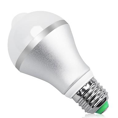 9W 850 lm E26/E27 B22 Smart LED Glühlampen A60(A19) 18 Leds SMD 5630 Infrarot-Sensor Menschlicher Körper Sensor Lichtsteuerung Warmes
