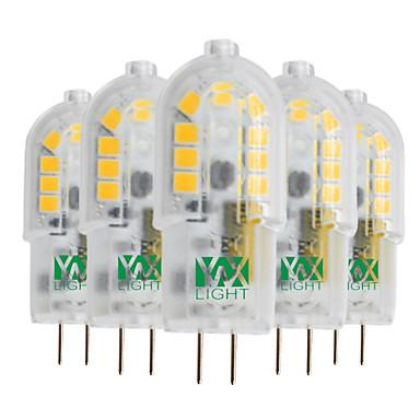 YWXLIGHT® 5 stuks 3W 300-400 lm G4 2-pins LED-lampen T 18 leds SMD 2835 Warm wit Koel wit Natuurlijk wit 12V