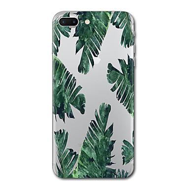 Maska Pentru Apple Transparent Model Carcasă Spate Copac Moale TPU pentru iPhone 7 Plus iPhone 7 iPhone 6s Plus iPhone 6 Plus iPhone 6s