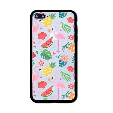 Hülle Für Apple Muster Rückseitenabdeckung Flamingo Hart Acryl für iPhone 7 plus iPhone 7 iPhone 6s Plus iPhone 6 Plus iPhone 6s iPhone 6