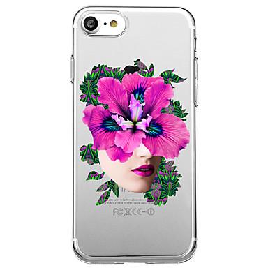 Hülle Für Apple Transparent Muster Rückseitenabdeckung Weich für iPhone 7 plus iPhone 7 iPhone 6s Plus iPhone 6 Plus iPhone 6s iPhone 6
