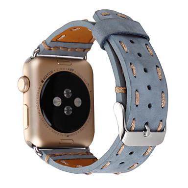 Uhrenarmband für Apfeluhr Serie 1 2 38mm 42mm echtes Leder Ersatzband Armband