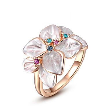 povoljno Prstenje-Žene Prsten Izjave Legura Moda Modno prstenje Jewelry Rose Gold Za Vjenčanje Ured i karijera Univerzalna veličina