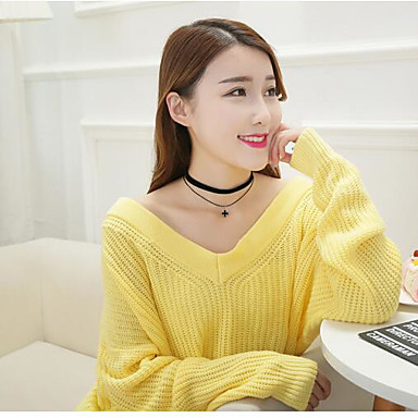 Pentru femei Coliere Choker Design Unic Bijuterii Pentru Zilnic Casual