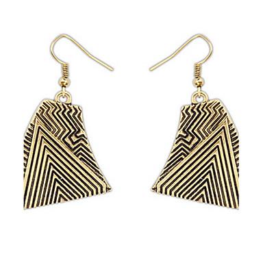 Damen Ohrstecker Tropfen-Ohrringe Kreolen Schmuck Basis Einzigartiges Design Logo Stil Freundschaft Luxus-Schmuck Punkstil Afrika