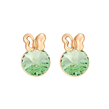 Damen Ohrring Schmuck Personalisiert Modisch Euramerican Krystall Aleación Schmuck Schmuck Für Hochzeit Party