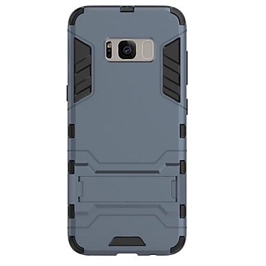 Maska Pentru Samsung Galaxy S8 Plus S8 Anti Șoc Cu Stand Carcasă Spate Culoare solidă Greu PC pentru S8 S8 Plus