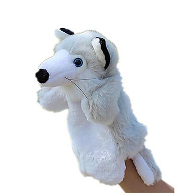 عرائس الأصابع دمى عرائس كلب لليد ألعاب Rabbit حيوان جذاب الحيوانات محبوب قماش قطيفة قطيفة للأطفال طفل قطع