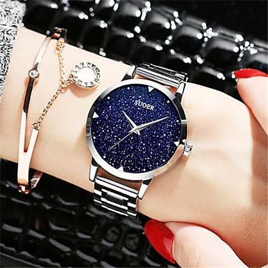 Dames Modieus horloge Kwarts Legering Band Zilver Goud