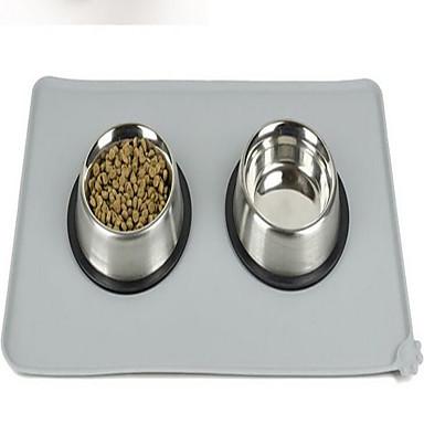 Feeding Besteck Hund Platztdeckchen Andere Other Haustiere Schüsseln & Füttern Wasserdicht tragbar Doppel-seitig Klappbar Faltbar Bequem