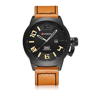 Heren Polshorloge Smart horloge Skeleton horloge Dress horloge Modieus horloge Sporthorloge Chinees Kwarts Grote wijzerplaat Stootvast