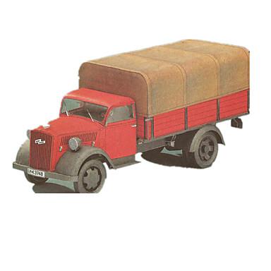 Spielzeug-Autos 3D - Puzzle Holzpuzzle Papiermodelle Lastwagen Spielzeuge LKW 3D Heimwerken Simulation Unisex Stücke