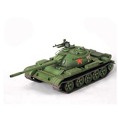 قطع تركيب3D نموذج الورق مجموعات البناء مربع دبابة ورق صلب استايل صيني كل العصور