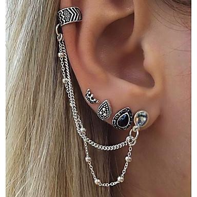 Dames Clip oorbellen Bohémien Legering Bladvorm Sieraden Dagelijks Kostuum juwelen