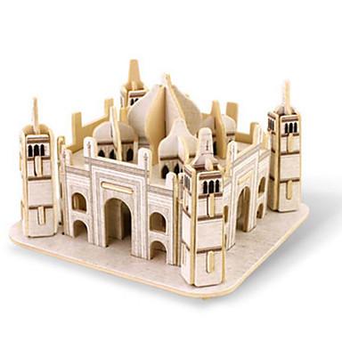 Robotime 3D - Puzzle Holzpuzzle Holzmodelle Berühmte Gebäude Architektur 3D Heimwerken Holz Klassisch Unisex Geschenk