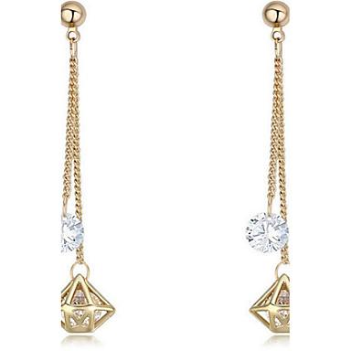 للمرأة مجوهرات هندسي نحاس Geometric Shape مجوهرات من أجل عيد ميلاد مناسبة / حفلة لباس يومي