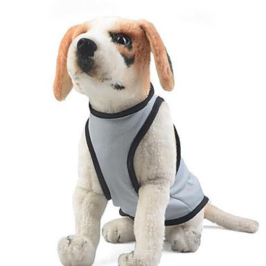 Hund Overall Hundekleidung Lässig/Alltäglich Solide Grau Blau Rosa Kostüm Für Haustiere