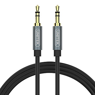 Unitek 3,5 mm Audio Jack Kabel, 3,5 mm Audio Jack to 3,5 mm Audio Jack Kabel Male - Male Vergoldetes Kupfer 1.5M (5Ft)