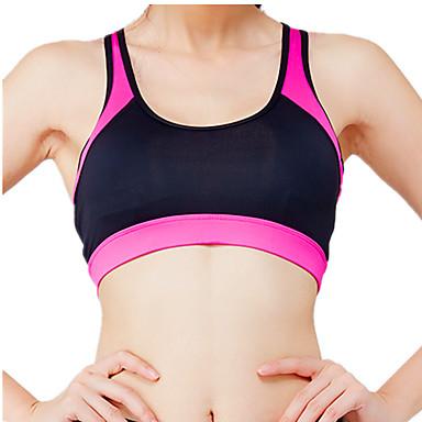 للمرأة كروب توب للجري اللياقة البدنية، والجري واليوغا ستيان الرياضة قمم إلى يوغا تشغيل لياقة بدنية فوشيا XS S M L
