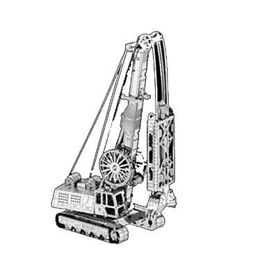 Speelgoedauto's 3D-puzzels Metalen puzzels Truck Constructievoertuig Bulldozer Speeltjes Vrachtwagen Architectuur 3D Metaal Niet