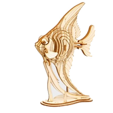 3D-puzzels Legpuzzel Houten modellen Dier Dieren DHZ Hout Natuurlijk Hout Unisex Geschenk