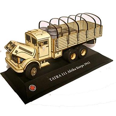 Speelgoedauto's 3D-puzzels Bouwplaat Truck Speeltjes Vierkant Vrachtwagen Strijdwagen DHZ Hard Kaart Paper Niet gespecificeerd Stuks
