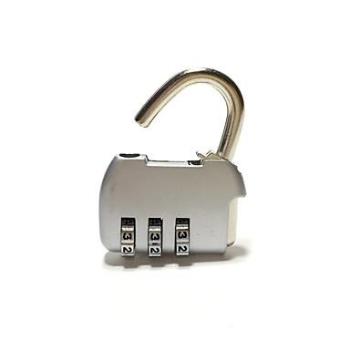 كلمة السر قفل سبائك الزنك سبيكة ألومنيوم فتح كلمة المرورforدرج مربع الأدوات حقيبة سفر الجمنازيوم حقائب السفر