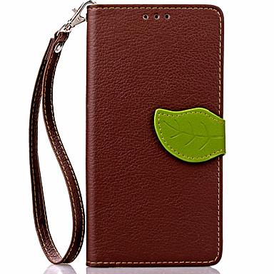 Carcasă pentru huawei p8 lite p8 carcasă capac portbagaj portofel cu suport flip carcasă plin corp solid culoare hard piele pu pentru