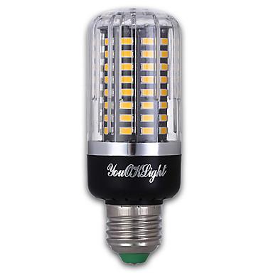9W E27 LED-maïslampen 100 leds SMD 5736 Warm wit 900lm 3000K AC 85-265V