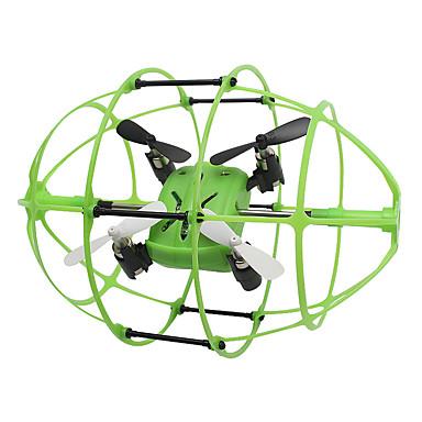 RC Dronă Skytech M69 4 Canal 2.4G Fără camera Quadcopter RC Lumini LED Quadcopter RC Cablu USB Lame
