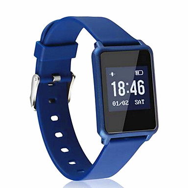Smart-ArmbandWasserdicht Long Standby Verbrannte Kalorien Schrittzähler Sport Herzschlagmonitor Touchscreen Information Kamera Kontrolle