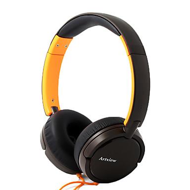 Ga500 gesloten bewegende coil headset type headset zonder microfoon