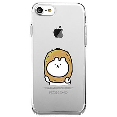 غطاء من أجل Apple iPhone 7 Plus iPhone 7 شفاف نموذج غطاء خلفي فاكهة كارتون ناعم TPU إلى iPhone 7 Plus iPhone 7 iPhone 6s Plus ايفون 6s