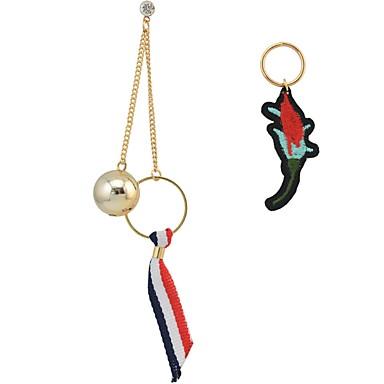 Dames Druppel oorbellen Basisontwerp Uniek ontwerp Hangende stijl Vriendschap Hip-hop Hypoallergeen Multi-ways Wear leuke Style