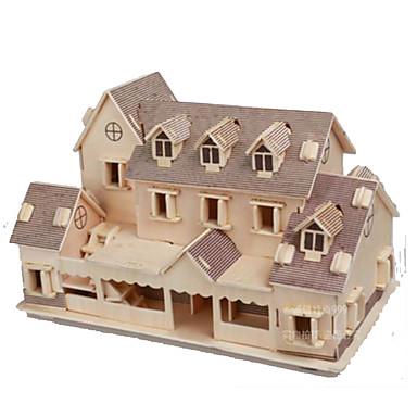 قطع تركيب3D مجموعات البناء مستطيل قبة بناء مشهور بيت معمارية اصنع بنفسك في سن المراهقة هدية