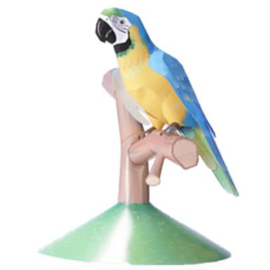 قطع تركيب3D نموذج الورق أشغال الورق مجموعات البناء حصان Parrot الحيوانات محاكاة اصنع بنفسك ورق صلب كلاسيكي للأطفال صبيان للجنسين هدية