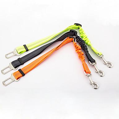 Hund Hundeautositzsgurt /Hundesicherheitsgurt Reflektierend Tragbar Sicherheit Solide Nylon Schwarz Orange Grün