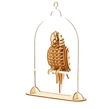 Puzzle 3D Puzzle Μοντέλα και κιτ δόμησης Modelul lemnului Jucarii Animal Animale Reparații Lemn Lemn natural Unisex Bucăți